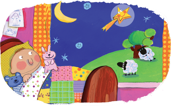 Twinkle little star - illustration 1