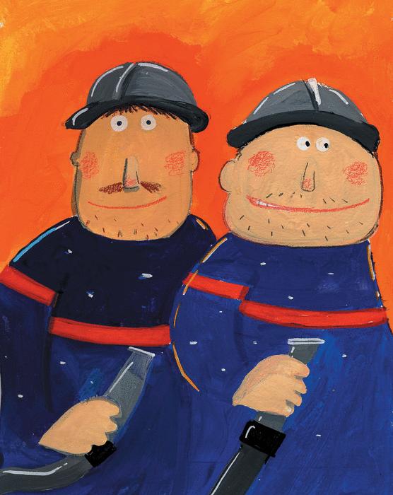 Au feu les pompiers ! - illustration 1