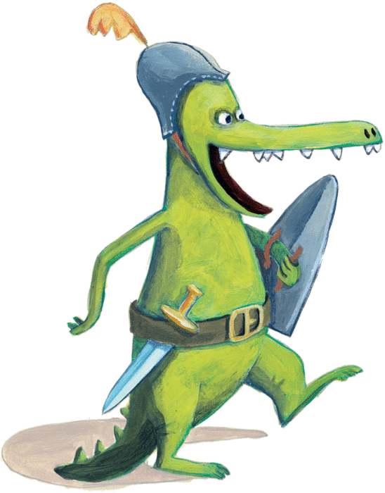 Ah, les crocodiles - illustration 1