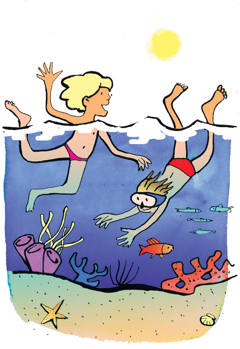 Let's go swimming - illustration 1