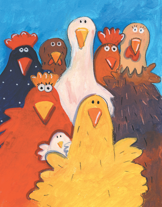 Rock and roll des gallinacés - illustration 1