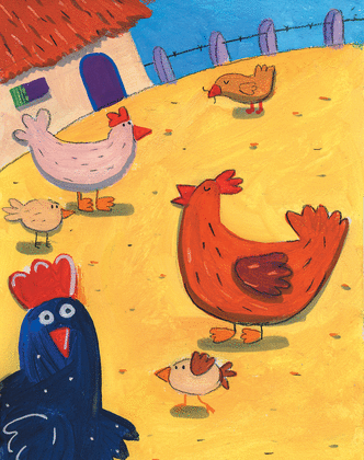 Rock and roll des gallinacés - illustration 6