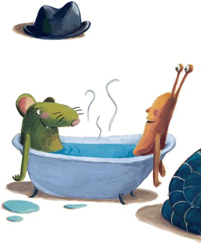 Une souris verte - illustration 1