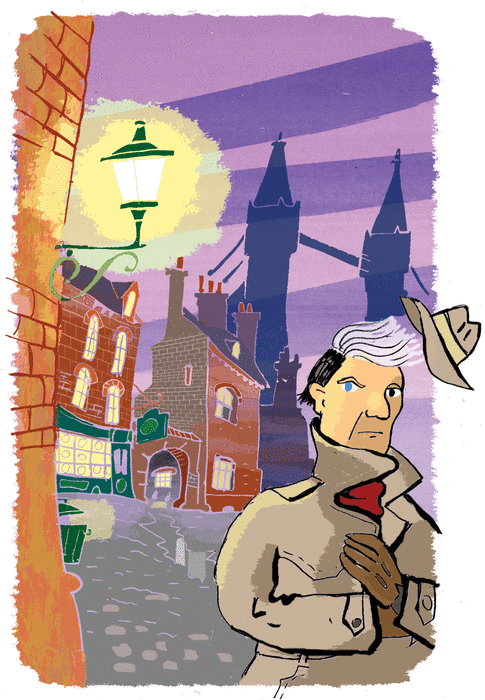 The strange man - illustration 1