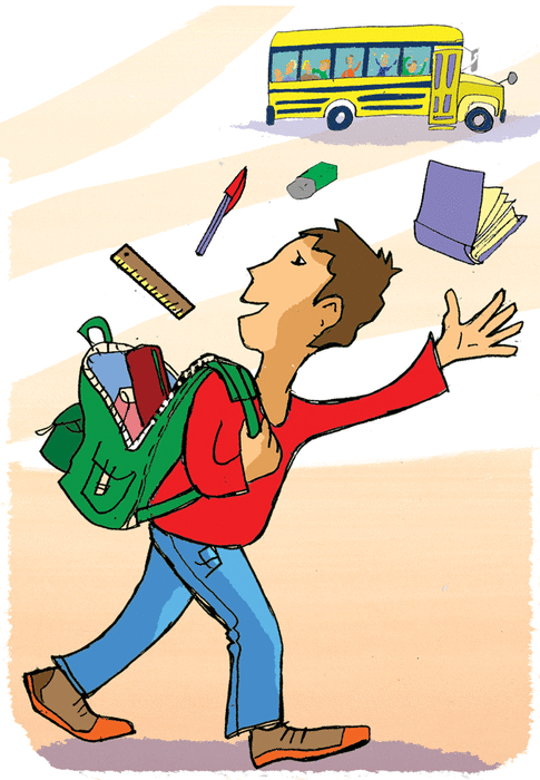 In my schoolbag - illustration 1