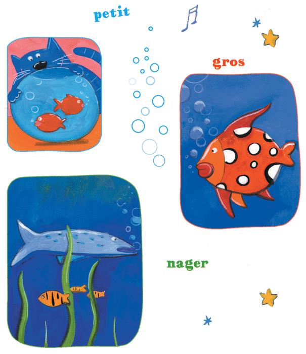 Les petits poissons - illustration 1