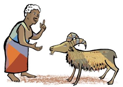 La Lionne et l'Hyène - illustration 2