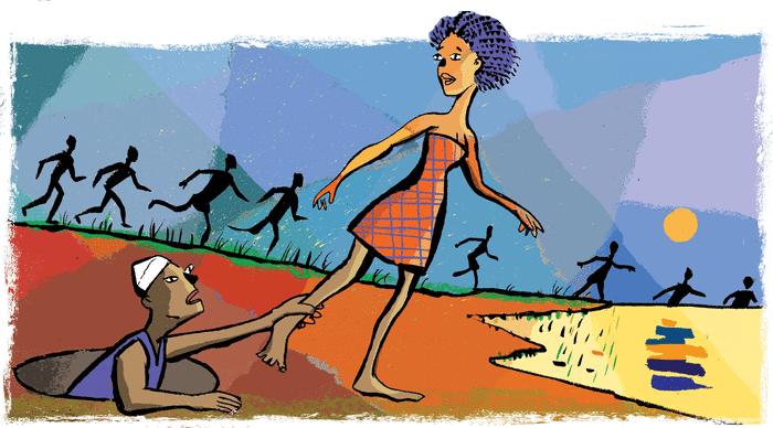 La Mounou de la Falêmé - illustration 1
