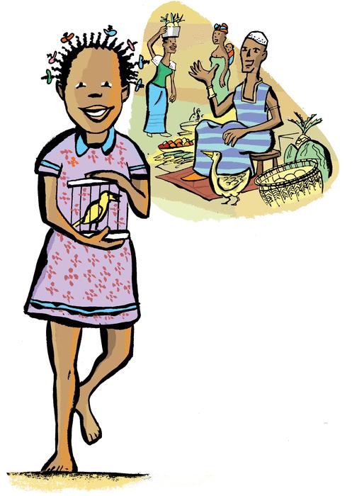 Le canari merveilleux - illustration 1