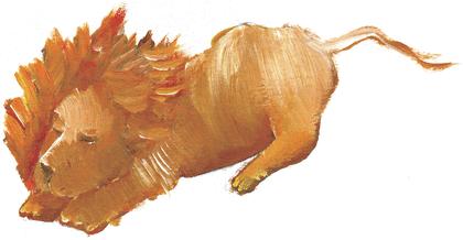 Origine du lion, du chat et du rat - illustration 2