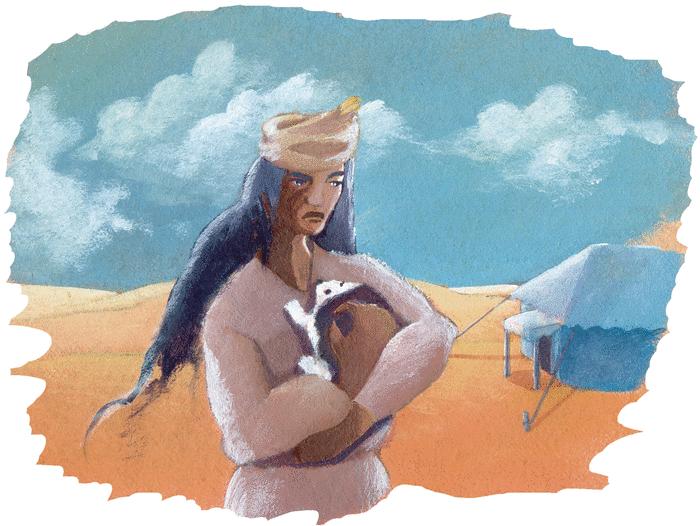 Le chacal et le hérisson - illustration 2