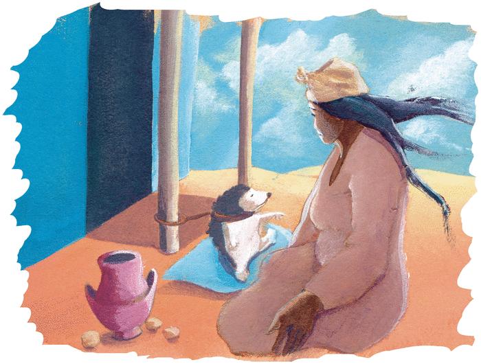 Le chacal et le hérisson - illustration 3