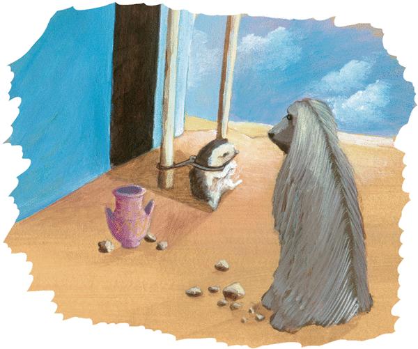 Le chacal et le hérisson - illustration 4