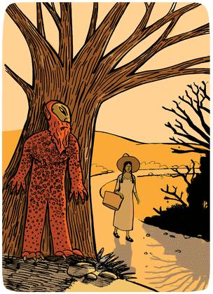 Le génie de la forêt - illustration 1