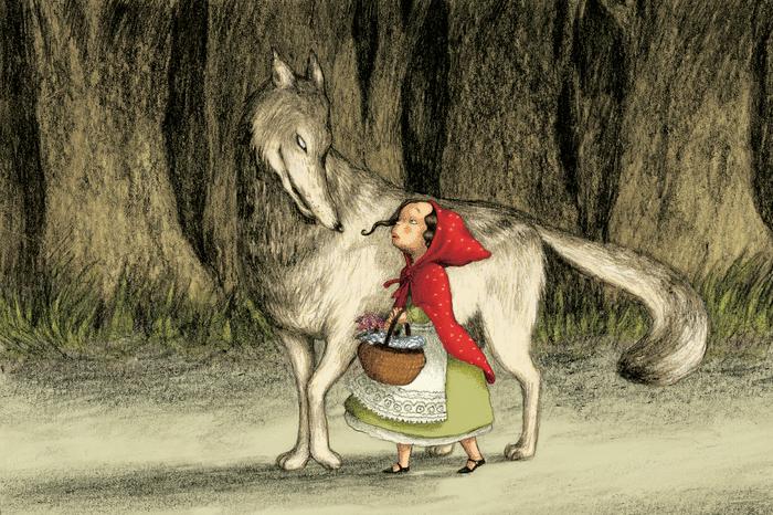 Le Petit Chaperon rouge - illustration 1