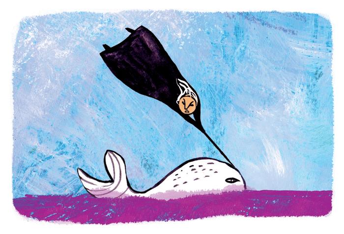 L'orphelin aveugle ou la légende du narval - illustration 1