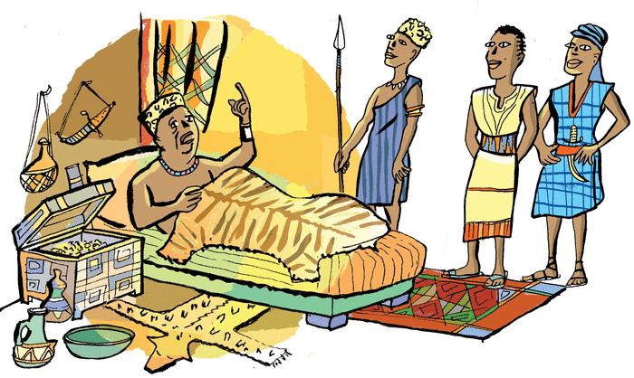 Le roi et ses enfants - illustration 1