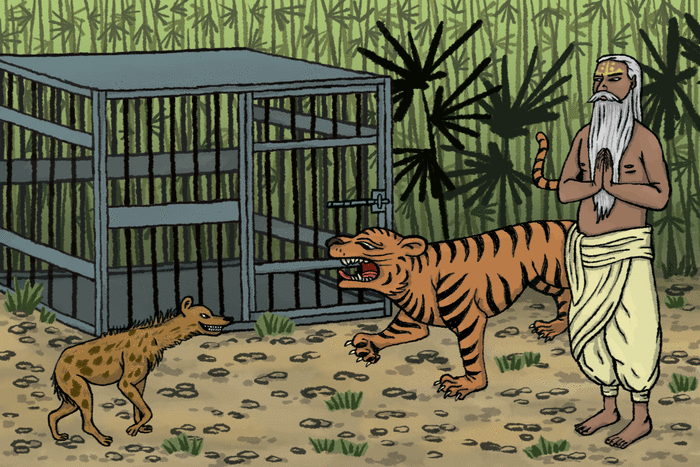 Le tigre, le brahmine et le chacal - illustration 1