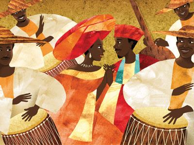 Anta et Mamadou - illustration 1