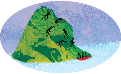 La branche morte - illustration 1
