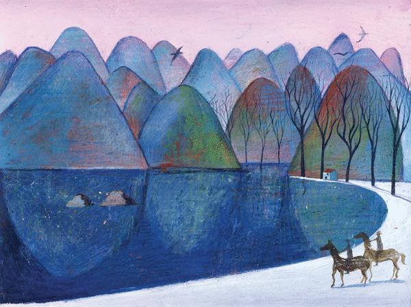 Les mouettes du lac Salé - illustration 1