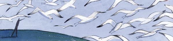 Les mouettes du lac Salé - illustration 3