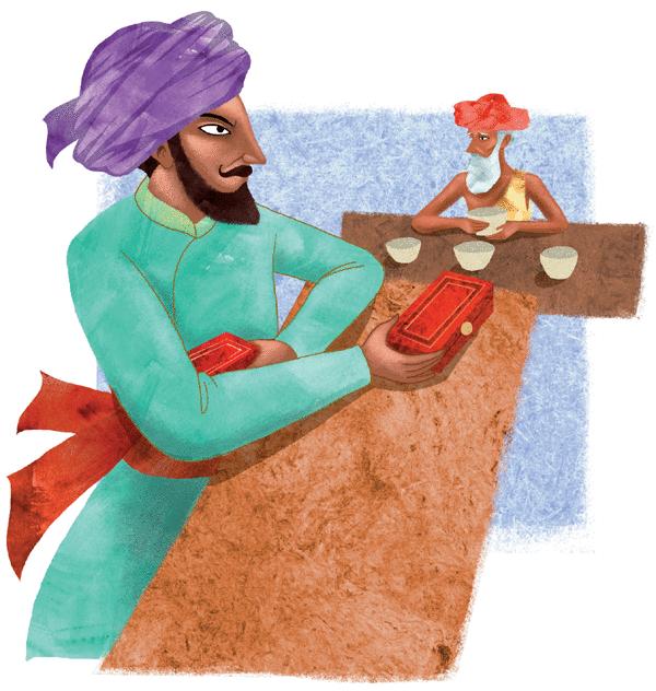 Le brahmane et la déesse Durga - illustration 2