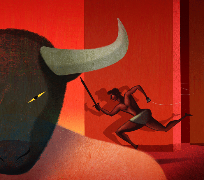 Le Minotaure - illustration 1