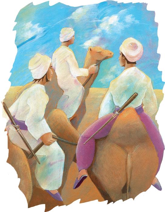 Histoire de l'ogre et de la belle femme - illustration 1