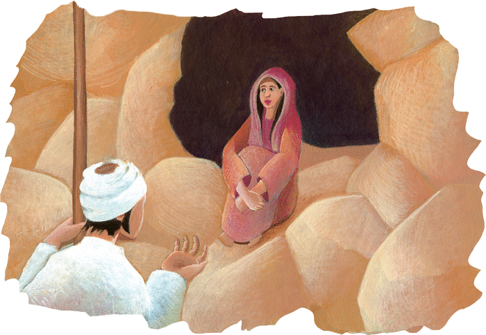 Histoire de l'ogre et de la belle femme - illustration 2