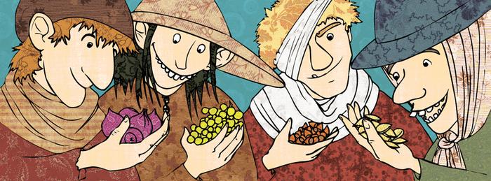 La légende des quatre mendiants - illustration 1