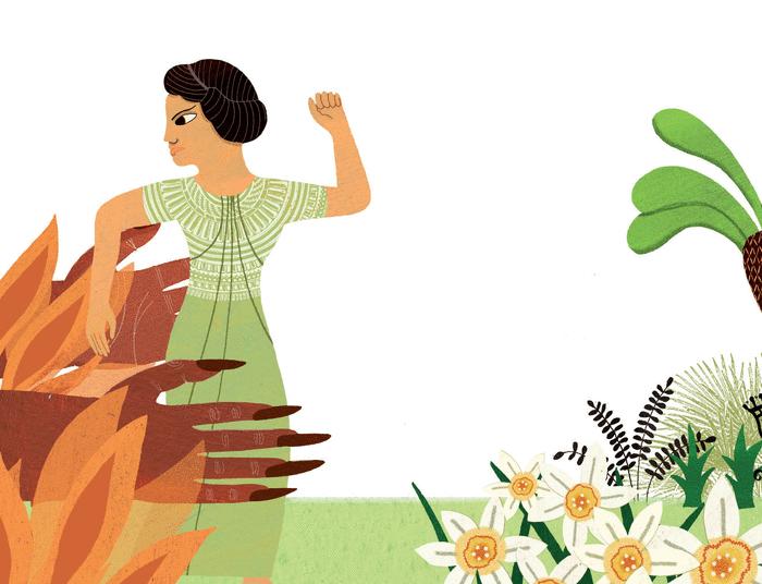 Perséphone ou la naissance des saisons - illustration 1
