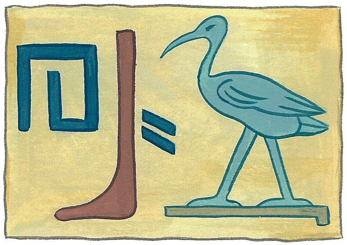 Les hiéroglyphes - illustration 2