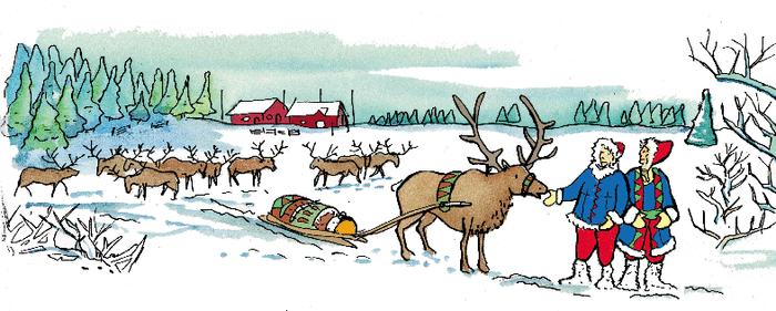 La Finlande, le pays du Père Noël - illustration 1