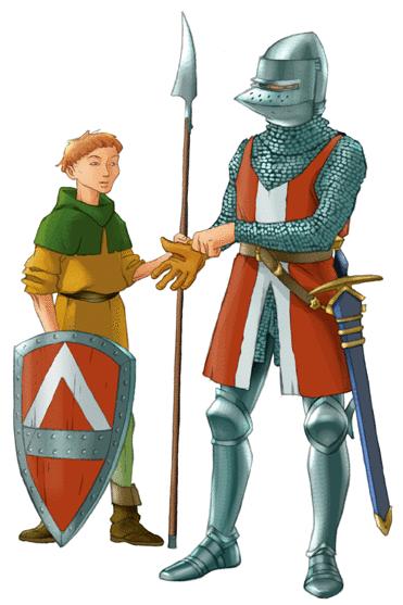Les chevaliers du Moyen Âge - illustration 1