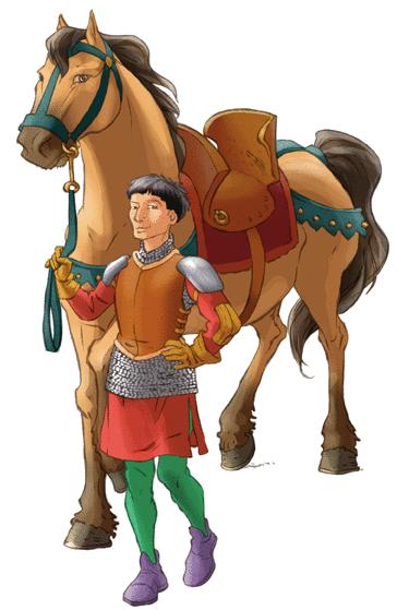 Les chevaliers du Moyen Âge - illustration 3