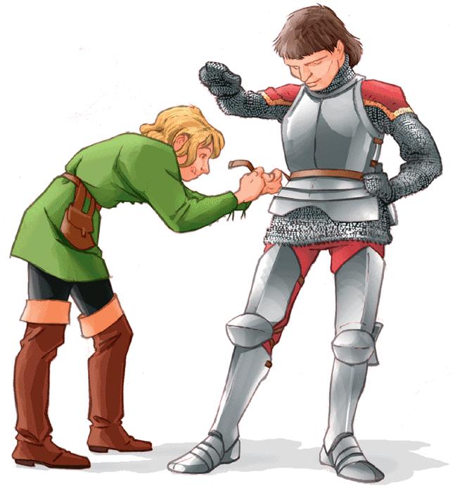 Les chevaliers du Moyen Âge - illustration 4