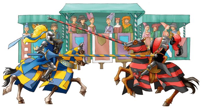 Les chevaliers du Moyen Âge - illustration 5