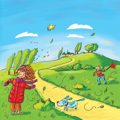 Quand le vent se lève - illustration 1