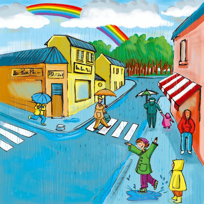 Il pleut, il mouille ! - illustration 1