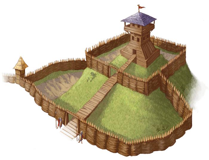 Le château fort - illustration 1