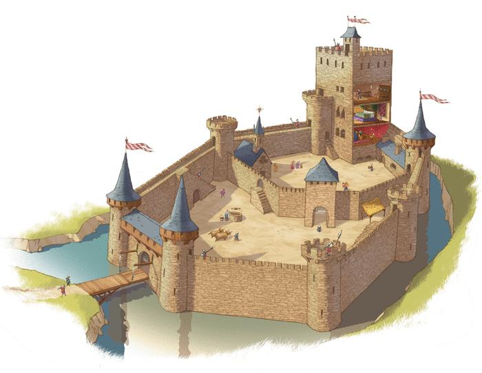 Le château fort - illustration 2