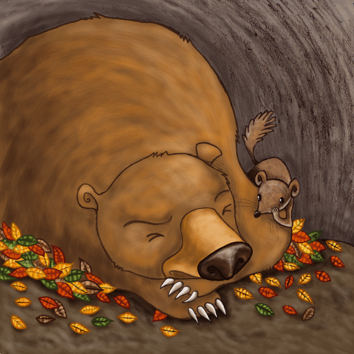 L'hermine et l'hiver - illustration 1