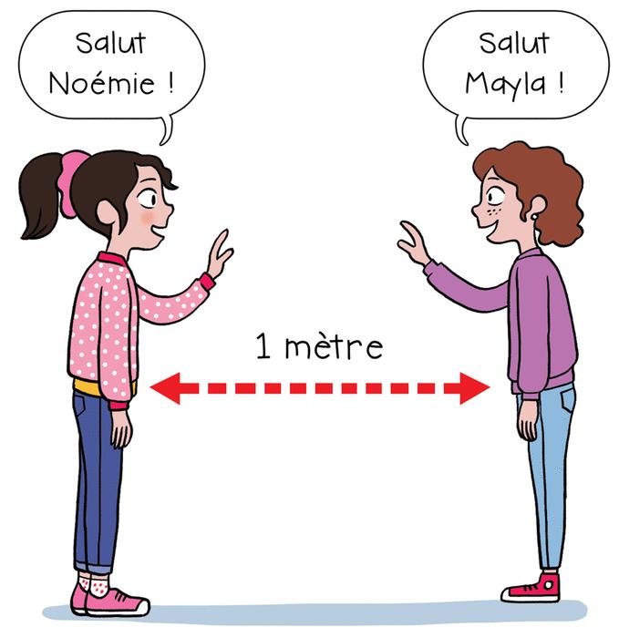 Les gestes barrière - illustration 6