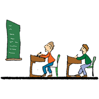In the classroom - illustration 9