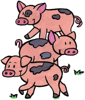This little piggy - illustration 3