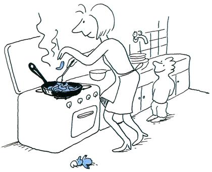 Les idées bleues de Jojo - illustration 11