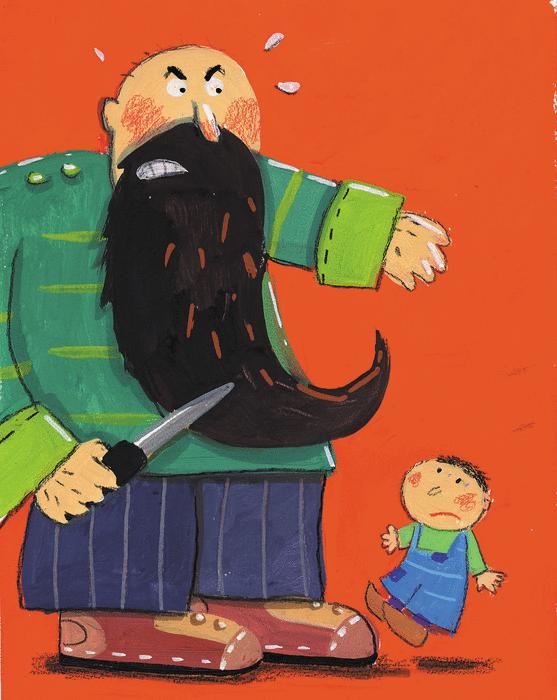 Histoire de l'ogre et de la belle femme - illustration 3