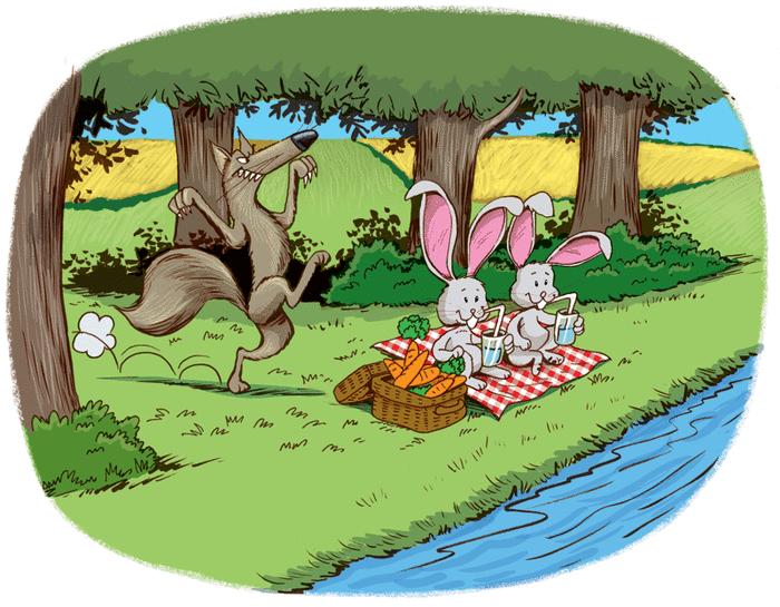 Le loup - illustration 2