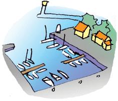 Bateau sur l'eau - illustration 3